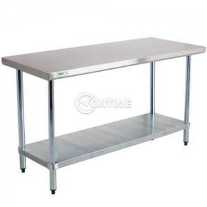 Помощна работна маса за кухня професионална 180 х 80 х 80 см.