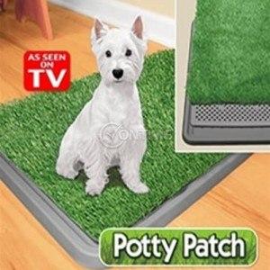 Тоалетна за кучета с изкуствена трева 70 х 44см.