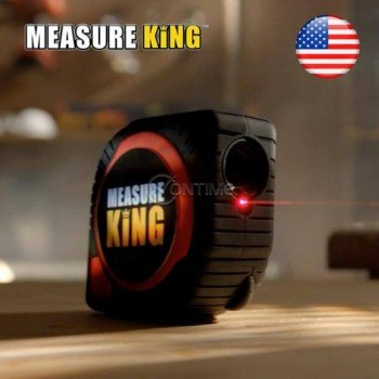Лазерна ролетка и ролка Measure King 3 in 1