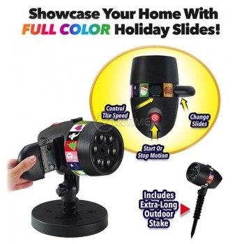 Лазер за Коледна украса/ Хелоуин Slide Show