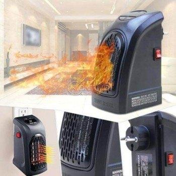Мини керамична печка духалка 400W с дистанционно