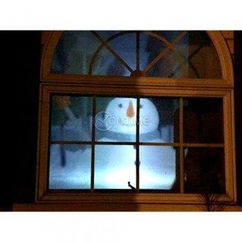 Коледен проектор за декорация на прозорци Window Projector