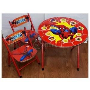 Детска сгъваема масичка и две столчета Spiderman