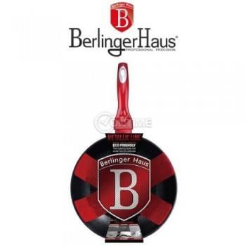 Уок тиган 28см Berlinger Haus Burgundi Metallc Line