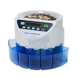 Машина за броене и сортиране на монети