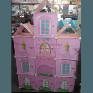 Детска етажерка от текстил за дрехи и играчки