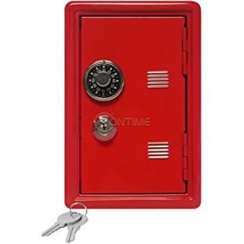 Метална сейф каса с код и ключ
