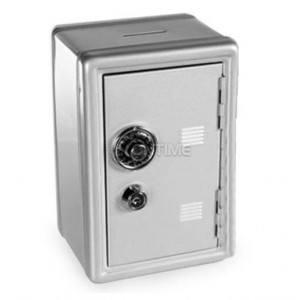Метална сейф каса с ключ