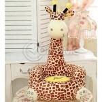 Пуф фотьойл за деца Жирафче