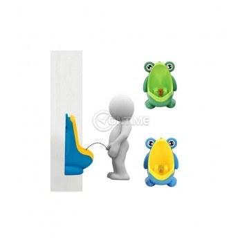 Детски писоар за стена във формата на жабка
