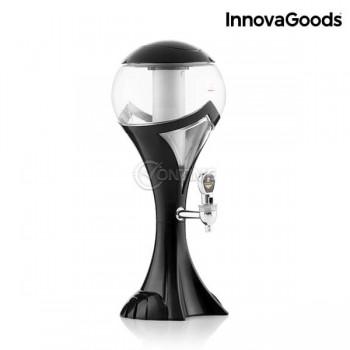 Диспенсър за бира с LED диоди и охлаждане WORLD CUP дизайн 1.5L