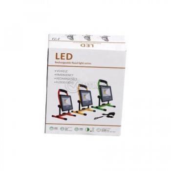 Led прожектор 20W на стойка с акумулаторна батерия