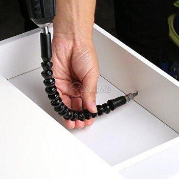 Гъвкав накрайник-удължител за винтоверт/ отвертка Snake Bit