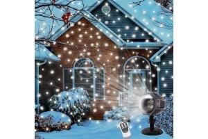 LED прожектор проектиращ снежинки