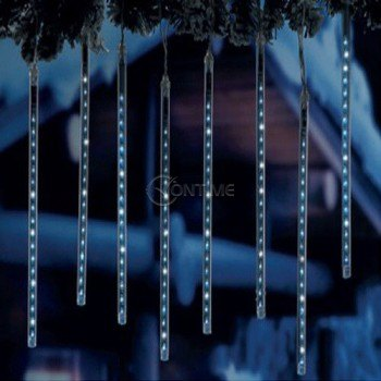 Коледна LED украса сталактит