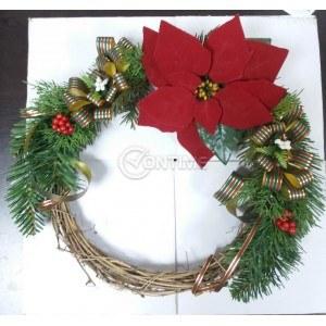 Коледен венец ръчна изработка