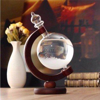 Кристална топка - времеви глобус