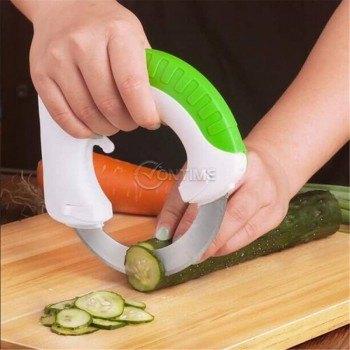 Кръгъл кухненски нож за рязане