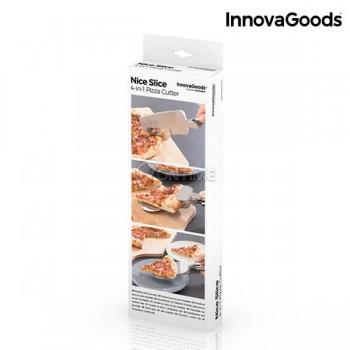 Уред за рязане на пица 4 в 1 INNOVAGOODS