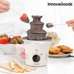 Шоколадов фонтан Sweet and Pop Times, бял, 70W, стоманен InnovaGoods