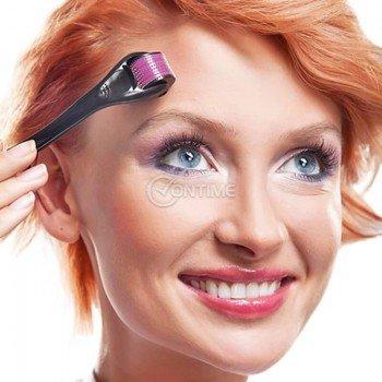 Дермаролер за красива кожa на лицето Skin roller