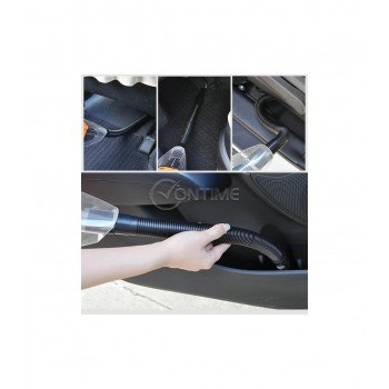 Прахосмукачка за автомобил 120W, хепа филтър, три приставки