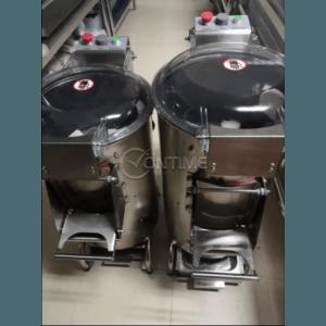 Електрическа картофобелачка с капак и таймер - 10литра/ 15литра