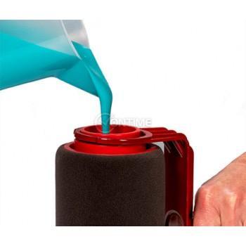 Валяци с резервоар за боядисване и отсичане