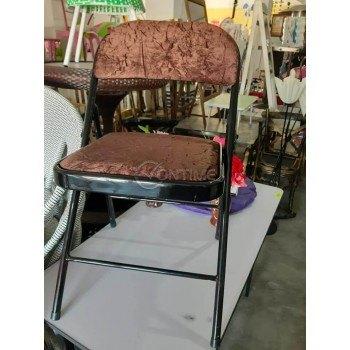 Сгъваем стол, метал и текстил