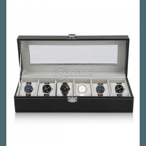Кутия за часовници с 6 отделения