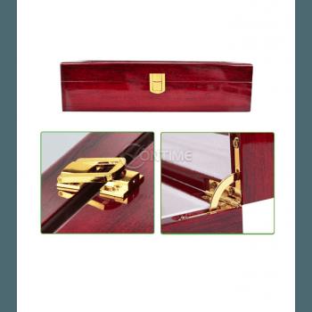 Дървена кутия за часовници - лукс с 6 отделения
