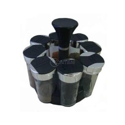 Комплект контейнерчета за подправки на въртяща стойка
