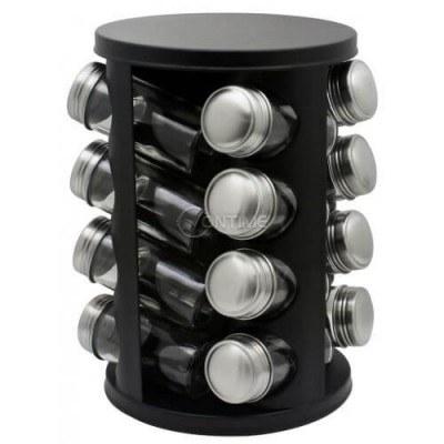 Комплект за подправки и черна стойка Zephyr