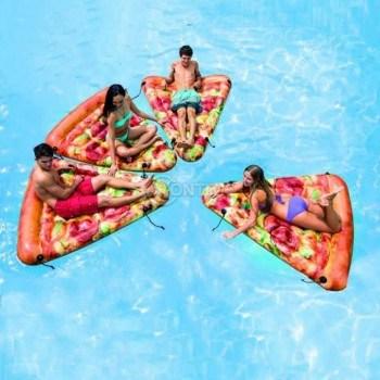 Надуваем дюшек Паче пица Intex