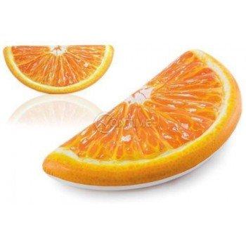 Надуваем дюшек за плаж Резен Портокал Intex