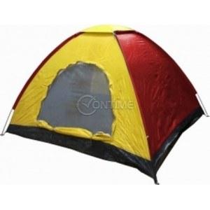 Палатка за къмпинг, четириместна, 208/208/145см