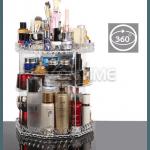 Органайзер за гримове и козметика въртящ 360 градуса