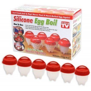 Силиконови формички за варене на яйца