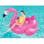 Надуваем дюшек за плаж Фламинго Bestway 175 x 173 cm