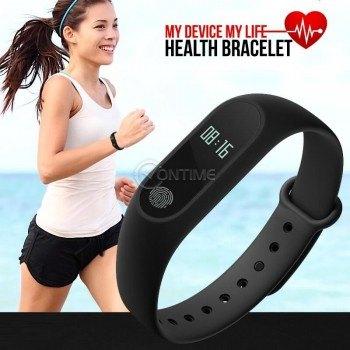 Фитнес смарт гривна - часовник