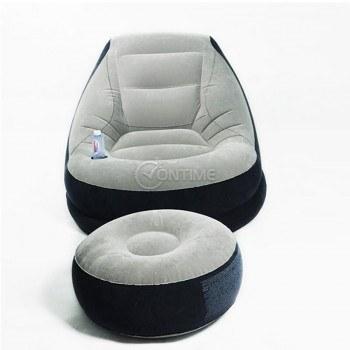 Надуваемо кресло - 2 части Intex