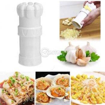 Преса за чесън на кубчета Garlic Master