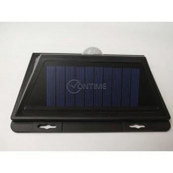 Соларна лампа, сензор за движение, 52 диода, широк ъгъл на светене