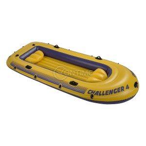 Intex Challenger 4 надуваема лодка за Четирима души