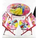 Детска маса с 2 столчета - Принцеси