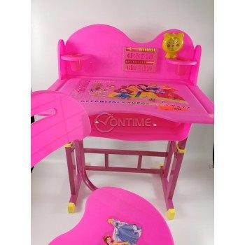 Бюро за детска стая със стол за момиче