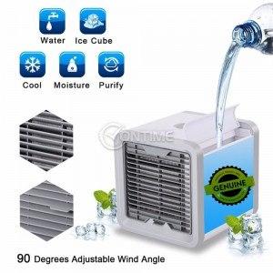 Портативен вентилатор, овлажнител за въздух 3 в 1