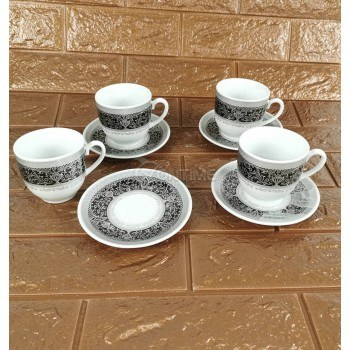 Сервиз за кафе от костен порцелан Верона