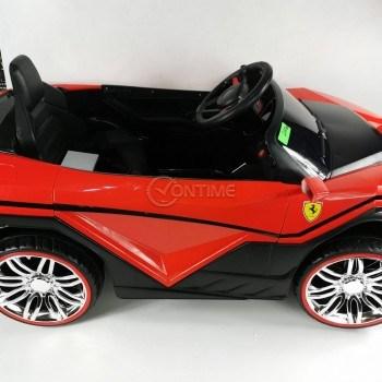 Акумулаторна кола Ферари дизайн