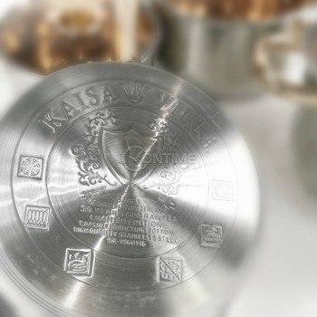Комплект качествени съдове за готвене 7 части Kaisa Villa